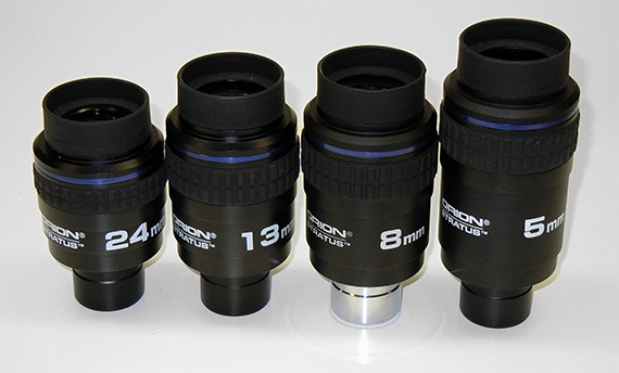 My Sirius eyepieces, astronomy equipment
