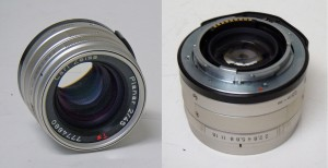 45mm f/2.0 Carl Zeiss Planar T* for the Contax G1