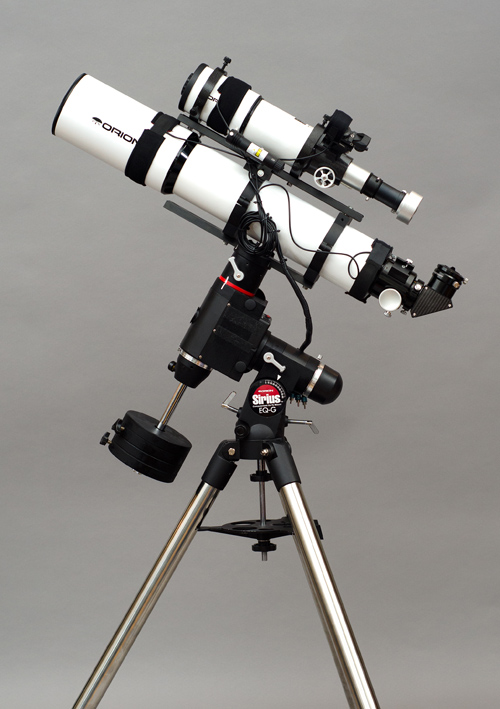 Primary astrophotography and astronomy equipment setup