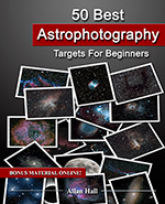 50 best astrophotography targets for beginners, , one of my astrophotography books