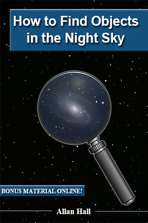 How to Find Objects in the Night Sky - Front Cover