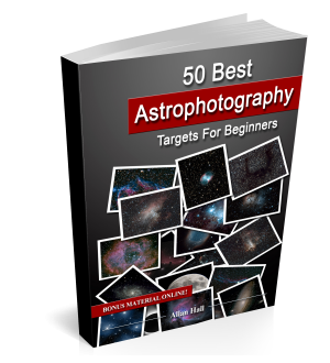 Book on astrophotography objects
