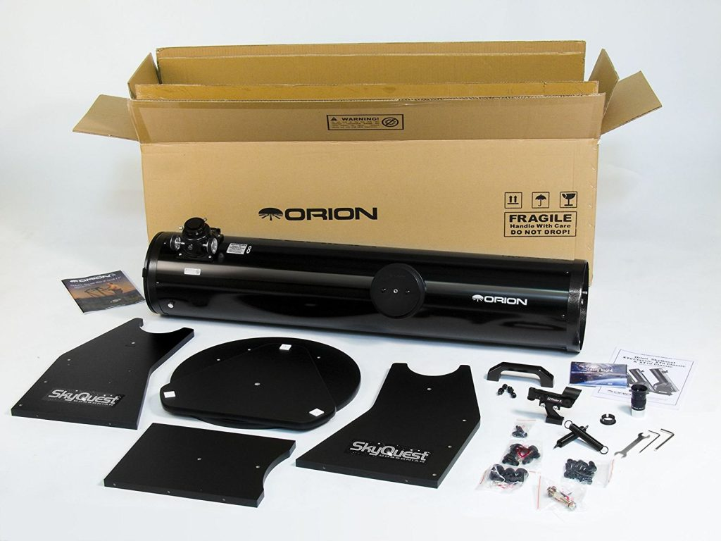 Orion XT8 unboxed