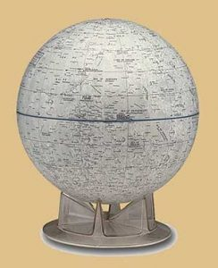 Replogle moon globe